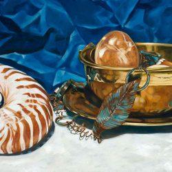 Nautilus and Brass Bowl, 2011